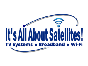 It's All About Satellites Logo